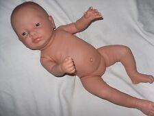 Traumdolls Baby Puppe Newborn 53 cm Vollvinyl Mädchen Babypuppe Spielpuppe Baby