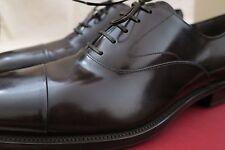 Ferragamo Men's NEW Lace Up Brown Shoes