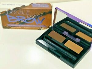 URBAN DECAY DOUBLE DOWN BROW WATERPROOF SMUDGE PROOF BROW PUTTY  CAFE KITTY
