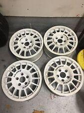 "Enkei Sport 15"" Gravel Rally Rims for Mitsubishi Evolution Subaru Impreza STI"