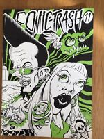COMIC TRASH NR. 11 1993  INDEPENDENT ART PUNK 90ER JAHRE COMICS FANZINE ARTCORE