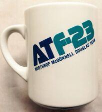 1980s NORTHROP McDONNELL DOUGLAS ATF-23 TEAM YF-23 COFFEE MUG, AVIATION, VINTAGE