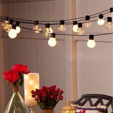 Connectable LED Globe Ball Fairy String Light Christmas Wedding Garden Garland