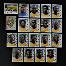 Panini FIFA World Cup Germany 2006 Complete Team Togo + Foil Badge