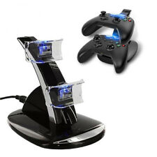 DC 5V LED Dual Controller Charging Dock Station Charger for Xbox One Controller