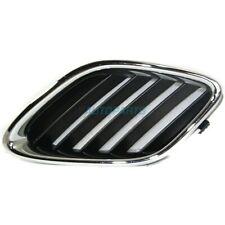 New RH Grille Chrome Shell Painted Black Insert Fits 2003-07 Saab 9-3 SB1200103