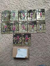 MICHAEL JORDAN GOLD SERIES OVERSIZED CARDS UPPER DECK SET OF 12  1985-1997