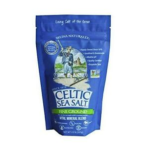 Celtic Sea Salt, Fine Ground Resealable Bag, 8 oz