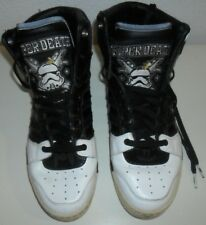 ADIDAS Star Wars Conductor Hi Super DS 77 Death Star Shoes Trainers 9 9.5 43