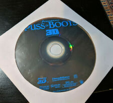 PUSS IN BOOTS (3D Blu-ray DISC ONLY) 3d blu banderas shrek family