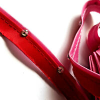 Paspelband Doppelpaspelband Satin PINK ROT mit Strasssteine 10mm trim, biais