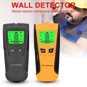 Metal Finder Wood Studs Detector AC Voltage Live Wire Detect Wall Stud Scanner