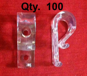 Qty (100) Looped Cord or Chain Hold Down - Tensioner - Window Blind Loop