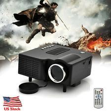 1080P 5000 Lumens Projector Home Theater Cinema LED/LCD HDMI VGA AV TV VGA HD US