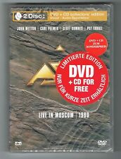 ♫ - ASIA - LIVE IN MOSCOW 1990 - COLLECTOR DVD + CD - NEUF NEW NEU - ♫