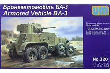 UNIMODELS 320 1/72 Armored Vehicle BA-3
