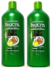 2x Garnier Fructis STOP CAIDA w Caffeine & Vitamin FALL FIGHT Fortifying Shampoo