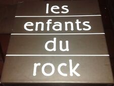 Les Enfants Du Rock JOHNNY HALLYDAY The Cure Indochine ..RARE Coffret 3 DVD
