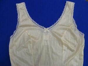 Velrose Nylon Wide Strap Dress Slip (3411)
