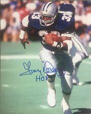 Tony Dorsett Signed Dallas Cowboys 8x10 Photo HOF Inscription