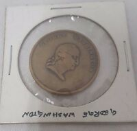 GEORGE WASHINGTON BRONZE MEDAL ~ TIME INCREASES HIS FAME