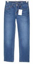 Mesdames Levis coupe droite Demi Curve Classic Mid Rise Jeans Bleu Taille 8 W26 L30