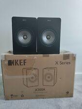 Kef X300a Active Near Field Speakers Monitors
