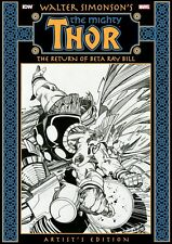 WALTER SIMONSON'S Thor: The Return of Beta Ray Bill Artist's Edition NEW NIB