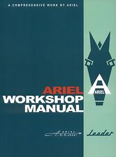 Ariel Arrow and Leader Workshop Manual with Golden Arrow Supplement New