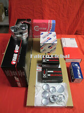 Mercruiser 140hp Chevy 3.0L Engine Kit Pistons 1p Bearings Gaskets MOLY rings