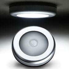 6 LED Wireless PIR Motion Sensor Stair Step Wall Light Indoor Cabinet Night Lamp
