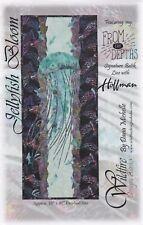 Jellyfish Bloom, Wildfire Designs Alaska, DIY Fusible Appliqué Quilt Pattern