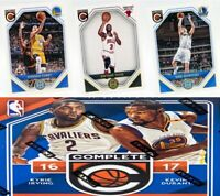 2016-17 Panini Complete Complete Players Insert Set Singles NBA Basketball Cards