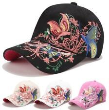 AKIZON Fashion Baseball Cap Hats For Women Snapback Butterflies Flowers FemaLe