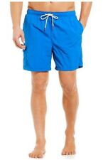 "NWT TOMMY BAHAMA Naples Coast Solid 6"" Inseam Swim Trunks Blue Size 4XLB NEW"
