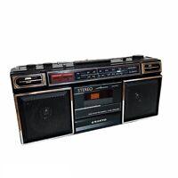 Vintage Sanyo M9703 Stereo Radio Cassette Boom Box Boombox Ghetto Blaster