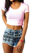 Maglie e camicie da donna rosa viscosa taglia S