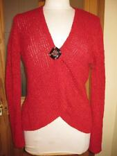 Per Una Women's Hip Length Long Sleeve V Neck Jumpers & Cardigans