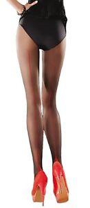 Pantyhose with a seam at the back  Beige/Black Black/Red Bella Gabriella