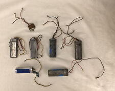 Lot of 6 Telephone Capacitors and 1 filter for parts, tested working  #p9