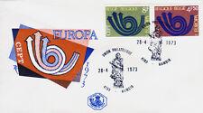 Belgien 1722-23 FDC, CEPT 1973