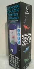 2 x Water Speakers sharks Colorful LED Change Water Dance Light Show