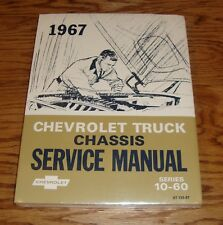 1967 Chevrolet Truck Chassis Service Manual Series 10-60 67 Chevy