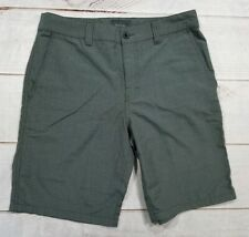 Valor Mens Casual Flat Front Golf Shorts Size 32