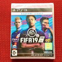 FIFA 19 Legacy Edition Sony PlayStation 3 PS3 English Brand New Sealed