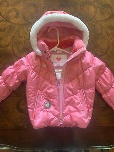Obermeyer Girls Jacket Insulated UNCUT I-GROW Pink Ski Snow Size 5