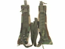 US Army/USMC ALICE LC-2 Woodland Camo Combat Pack Shoulder Straps Set Complete