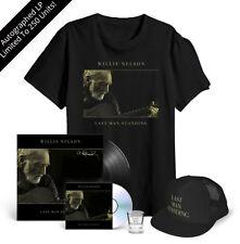 Willie Nelson Last Man Standing AUTOGRAPHED VINYL LP CD BUNDLE LTD 250 SOLD OUT!