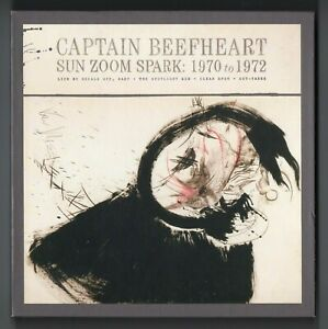 RARE COFFRET 4 CD ★ CAPTAIN BEEFHEART SUN ZOOM SPARK ★ EDITION LIMITEE