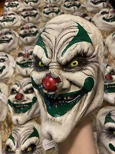 Halloween Creepy Clown Schmidt Eating Grin Freaky Sideshow Face Mask